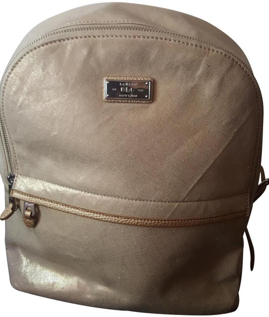 Item - Light Gold with Metallic Sheen Backpack