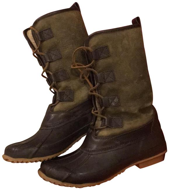 Item - Olive Argyll Lace-up Boots/Booties Size US 8 Regular (M, B)