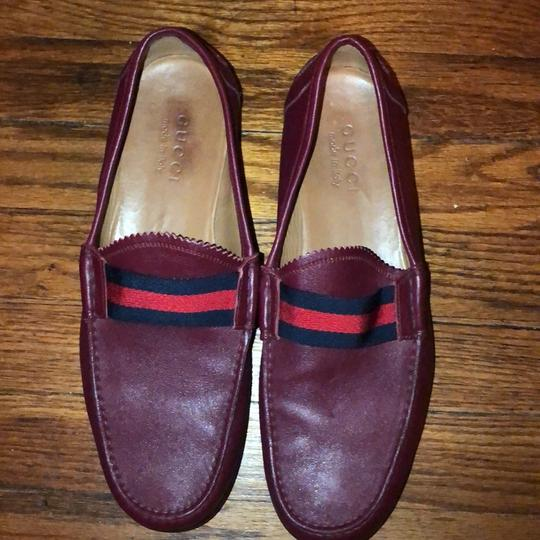 Gucci red Flats Image 5