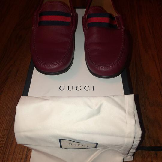 Gucci red Flats Image 8