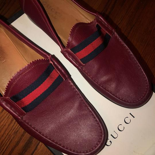 Gucci red Flats Image 9