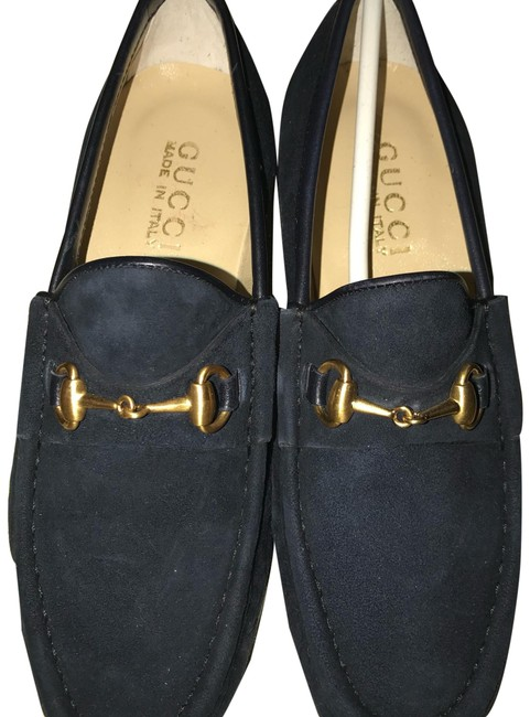 Item - Navy Loafer Boots/Booties Size US 5.5 Narrow (Aa, N)