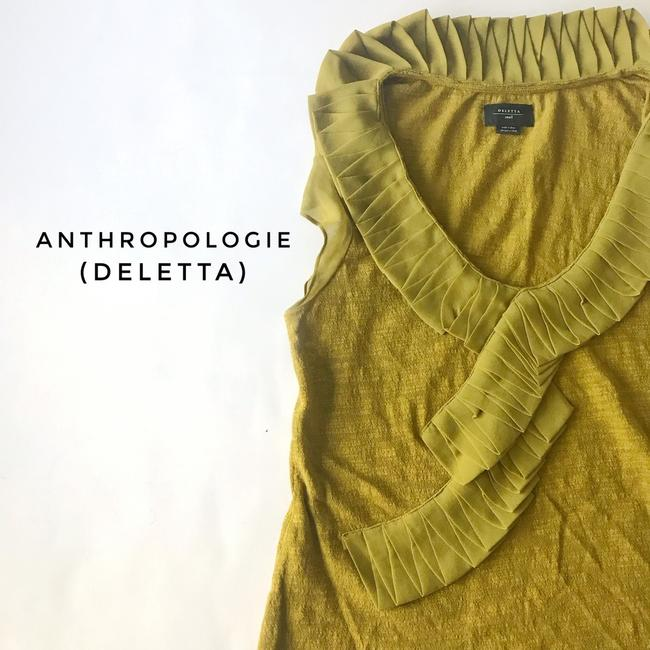 Anthropologie Top green Image 1