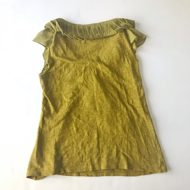Anthropologie Top green Image 3