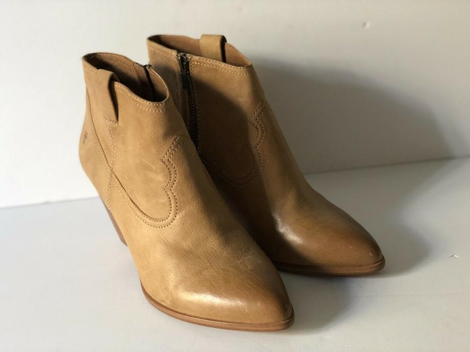 50ad6f45524 Frye Sand Womens Reina Leather Ankle 9-m Boots/Booties Size US 9 Regular  (M, B) 68% off retail