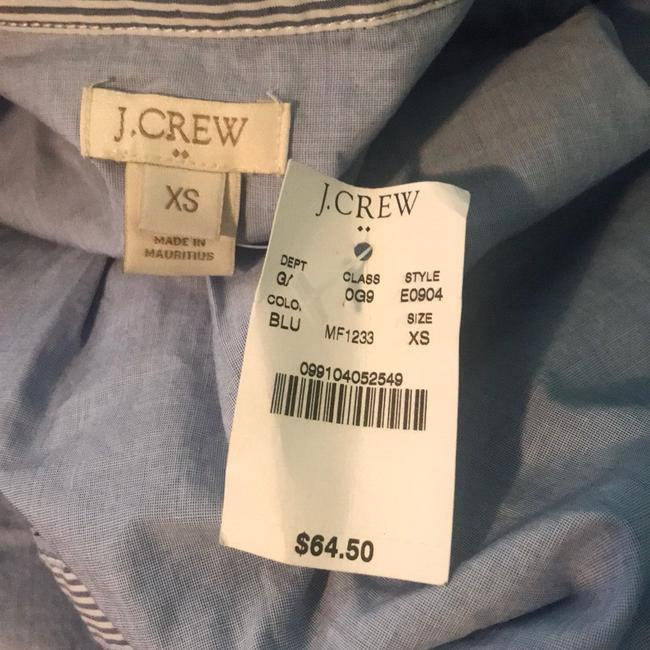 J.Crew Crew Contrast-striped Oxford Button Down Shirt Image 4