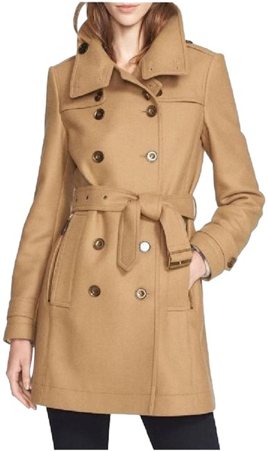 Burberry London New Leather Trench Coat Image 0