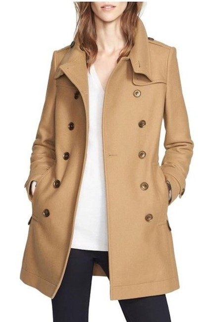 Burberry London New Leather Trench Coat Image 1