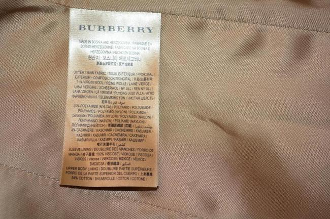 Burberry London New Leather Trench Coat Image 10
