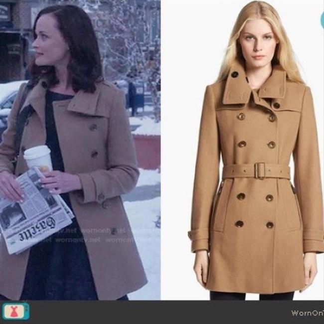 Burberry London New Leather Trench Coat Image 2