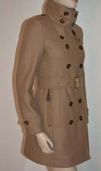 Burberry London New Leather Trench Coat Image 5