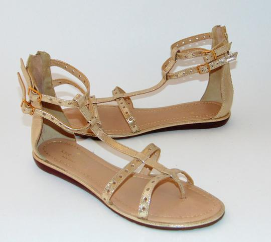 Kate Spade Gold Gladiator Sandals Image 3