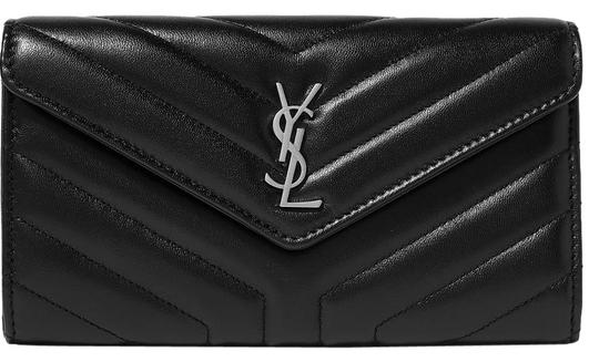 Preload https://img-static.tradesy.com/item/24893322/saint-laurent-quilted-textured-leather-wallet-0-1-540-540.jpg