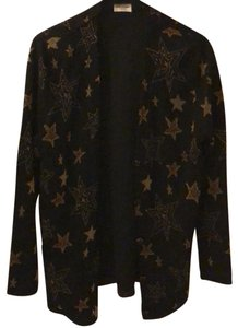 Saint Laurent black, gold yellow star Blazer