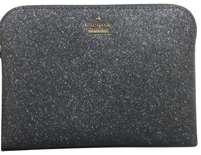 Item - Silver Ash Glitter Burgess Court Small Briley Cosmetic Bag