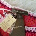 Tommy Bahama Swim Coverup Crochet Knit Embroidered Image 4
