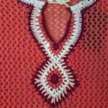 Tommy Bahama Swim Coverup Crochet Knit Embroidered Image 7
