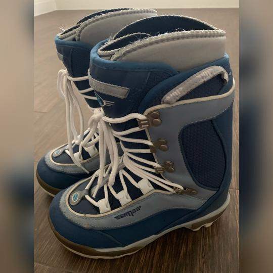 SIMS Revolver Snowboard Boots Blue Boots Image 3