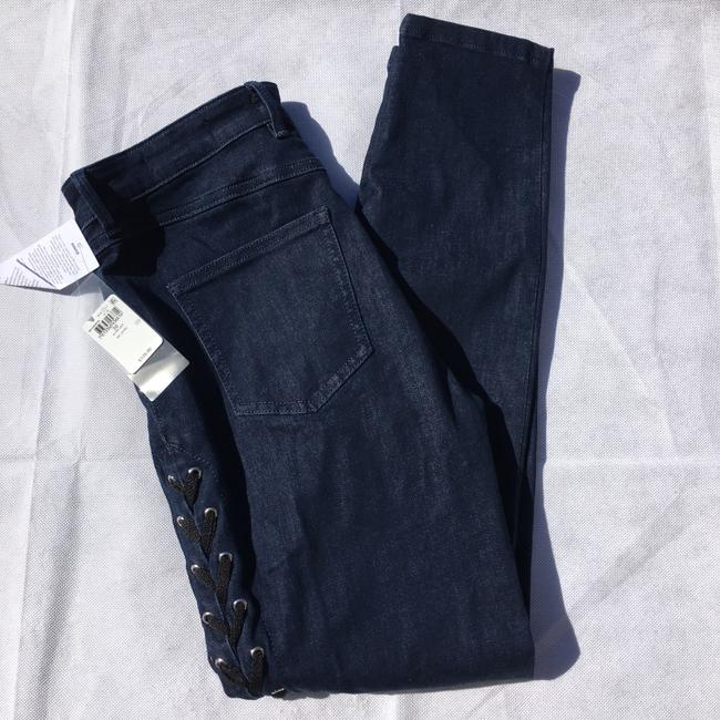 Guess #lace #stretch Skinny Jeans-Dark Rinse Image 1
