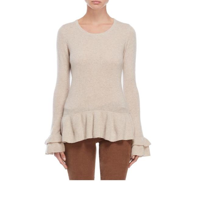 Preload https://img-static.tradesy.com/item/24893796/new-ruffle-flounce-cashmere-chinchila-sweater-0-1-650-650.jpg