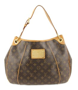 ac54bf742e74 Louis Vuitton Galliera Pm Monogram Brown Coated Canvas Hobo Bag ...