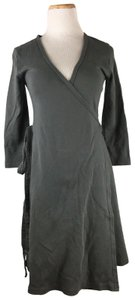 American Apparel short dress Dark Gray Longsleeve on Tradesy