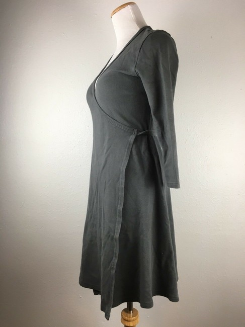American Apparel short dress Dark Gray Longsleeve on Tradesy Image 2