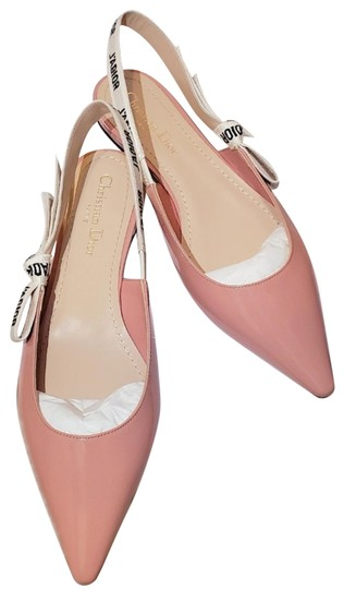 Preload https://img-static.tradesy.com/item/24893990/dior-pink-patent-leather-slingback-ballerina-flats-size-eu-39-approx-us-9-regular-m-b-0-8-540-540.jpg