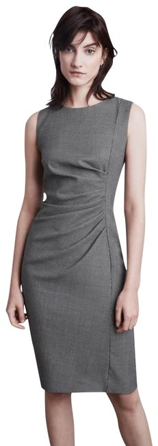 Preload https://img-static.tradesy.com/item/24894059/max-mara-black-and-gray-sophisticated-mid-length-workoffice-dress-size-16-xl-plus-0x-0-1-650-650.jpg