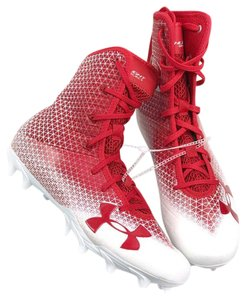 Under Armour Red/White Athletic