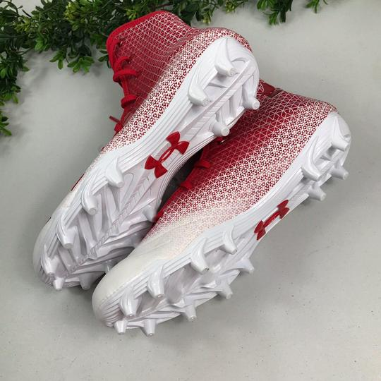 Under Armour Red/White Athletic Image 1
