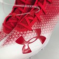 Under Armour Red/White Athletic Image 3