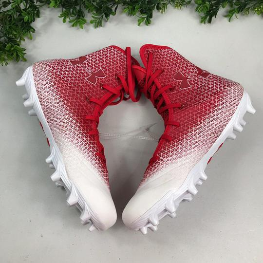 Under Armour Red/White Athletic Image 4