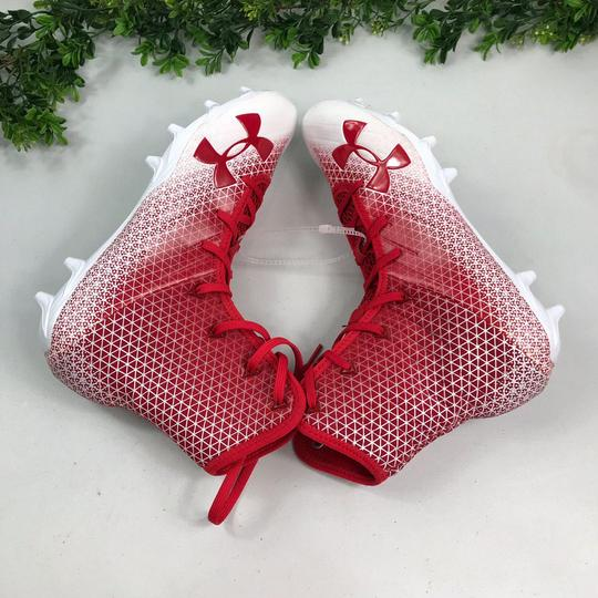Under Armour Red/White Athletic Image 8