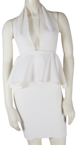 Unbranded short dress White Halter on Tradesy