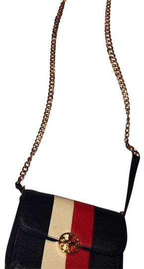 Preload https://img-static.tradesy.com/item/24894417/tory-burch-duet-striped-calf-shoulder-navy-blue-white-and-red-leather-cross-body-bag-0-1-540-540.jpg