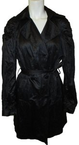 INC International Concepts Belted Double Breasted 001 Trench Coat