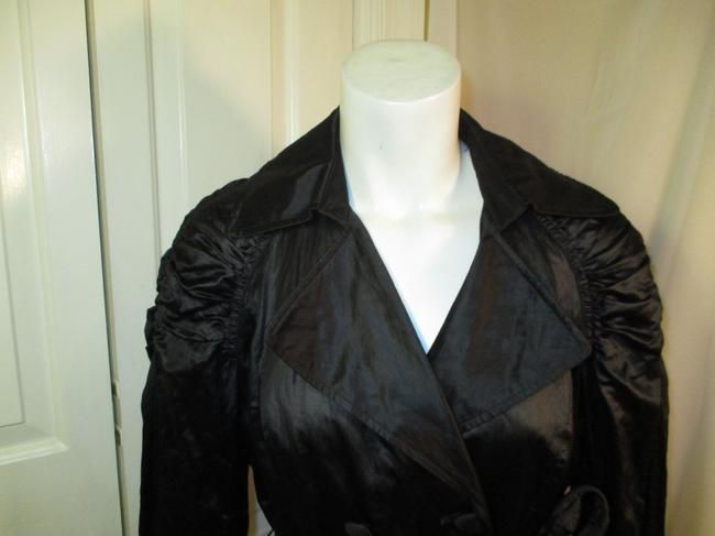 INC International Concepts Belted Double Breasted 001 Trench Coat Image 1