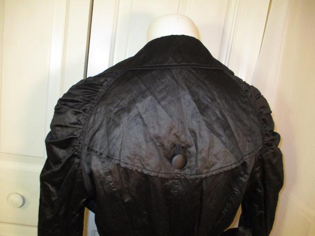 INC International Concepts Belted Double Breasted 001 Trench Coat Image 5