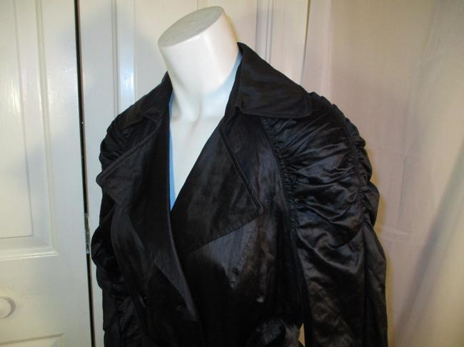 INC International Concepts Belted Double Breasted 001 Trench Coat Image 9