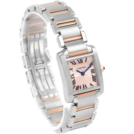 Cartier Cartier Tank Francaise Steel Rose Gold 160th Anniversary Watch W51036Q Image 2