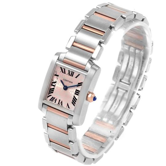 Cartier Cartier Tank Francaise Steel Rose Gold 160th Anniversary Watch W51036Q Image 3