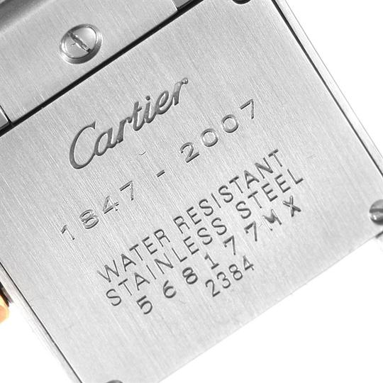 Cartier Cartier Tank Francaise Steel Rose Gold 160th Anniversary Watch W51036Q Image 5