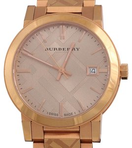 Burberry THE CITY CHECK WATCH 39MM
