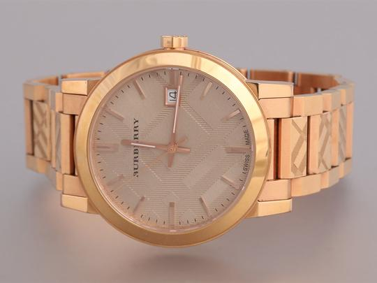 Burberry THE CITY CHECK WATCH 39MM Image 1