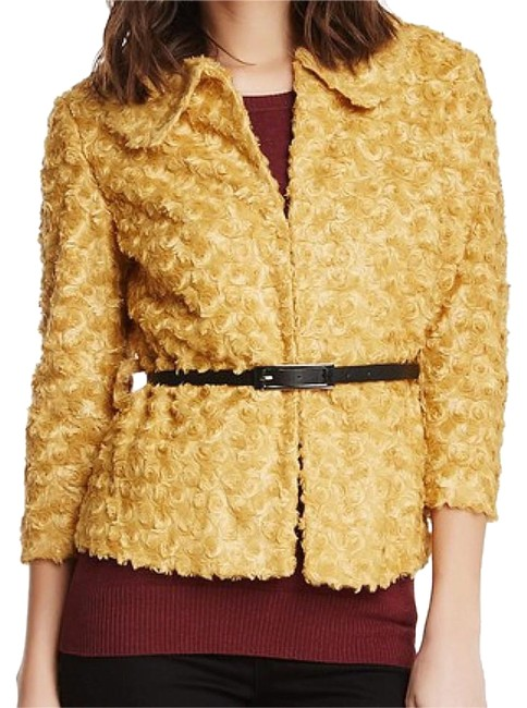 Preload https://img-static.tradesy.com/item/24894657/insight-gold-faux-fur-rosette-belted-jacket-size-10-m-0-2-650-650.jpg