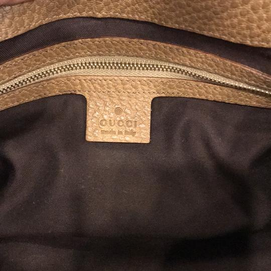 Gucci Vintage Leather Gg Jackie Shoulder Bag Image 7