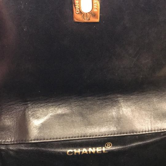 Chanel Leather Vintage Classic Backpack Image 9