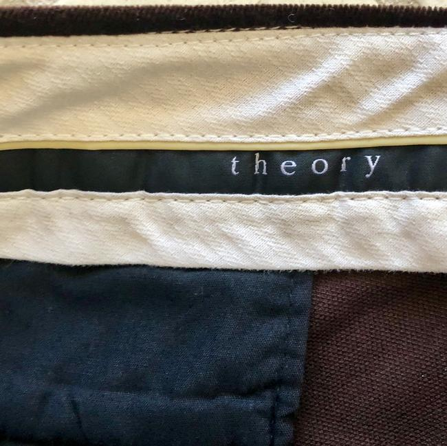 Theory Trouser Pants Brown Image 2
