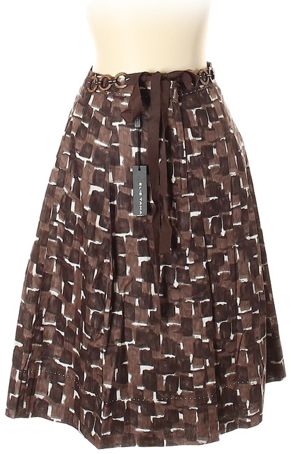 Elie Tahari Skirt Brown Image 0